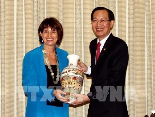 Ciudad Ho Chi Minh y Suiza impulsan cooperacion en desarrollo de urbes inteligentes hinh anh 1