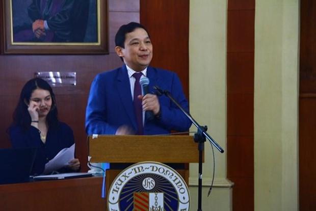 Funcionario filipino destaca el papel del Foro de Boao hinh anh 1