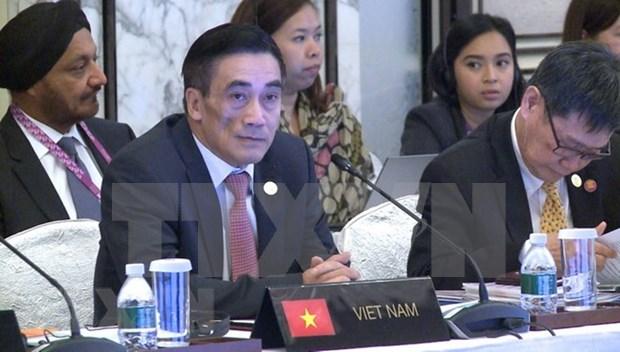 ASEAN por garantizar crecimiento economico sostenible y estabilidad financiera hinh anh 1