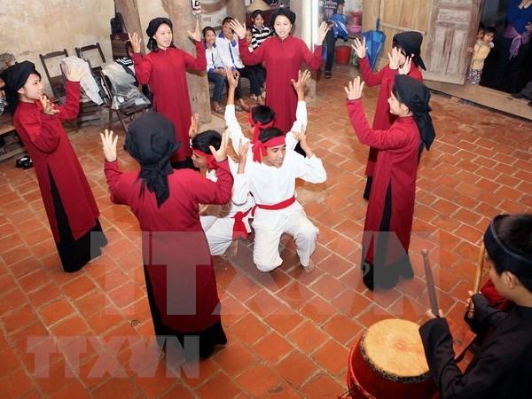 Festival para preservar cantos rituales de etnias minoritarias vietnamitas hinh anh 1