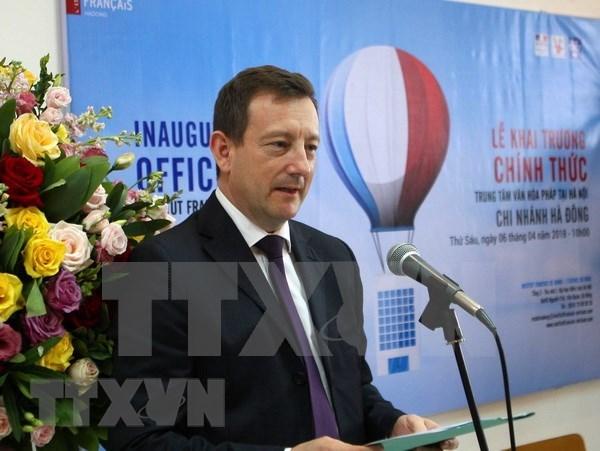 Centro de Cultura Francesa inaugura nueva filial en Hanoi hinh anh 1