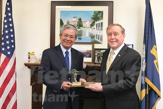 Vietnam y Estados Unidos promueven colaboracion en formacion en sectores de seguridad y defensa hinh anh 1