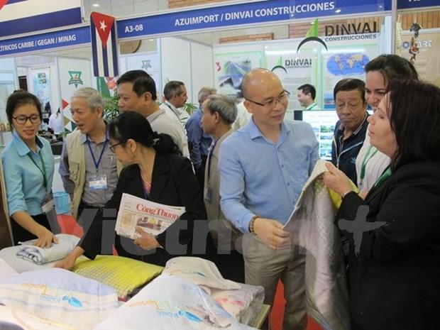 Vietnam Expo 2018 impulsara nexos comerciales Vietnam-Cuba hinh anh 1