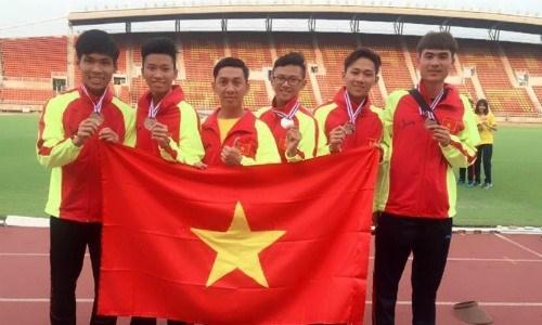 Vietnam ocupa el segundo lugar en el torneo regional de atletismo juvenil hinh anh 1