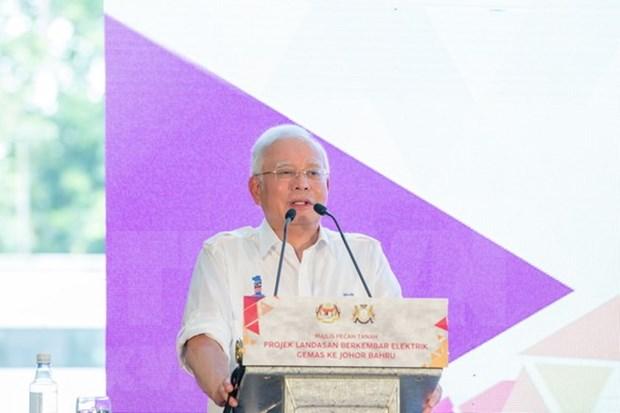 Primer ministro de Malasia presenta programa electoral hinh anh 1