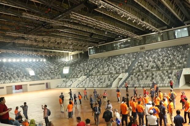Indonesia finaliza el complejo Gelora Bung Karno para ASIAD 18 hinh anh 1