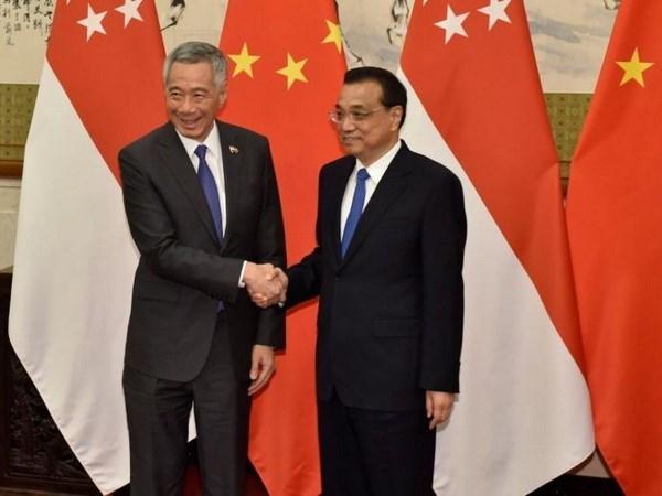 Singapur y China acuerdan fortalecer cooperacion en sectores clave hinh anh 1