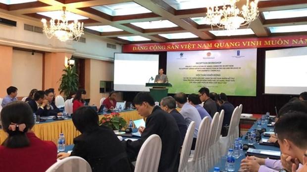 PNUD apoya a Vietnam en el despliegue de proyecto de quimica verde hinh anh 1