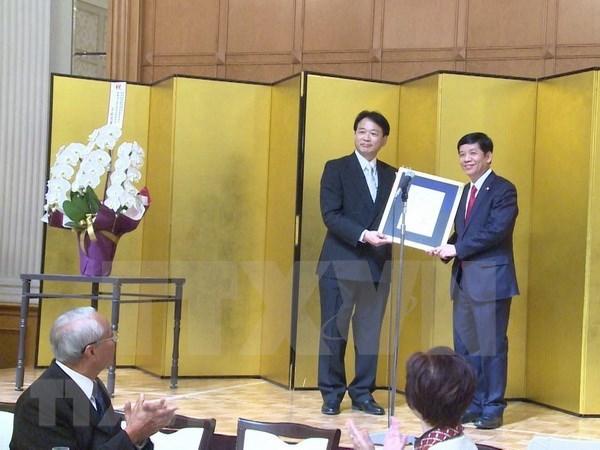 Nombran a reconocido doctor japones como Consul Honorario de Vietnam en prefectura de Aichi hinh anh 1