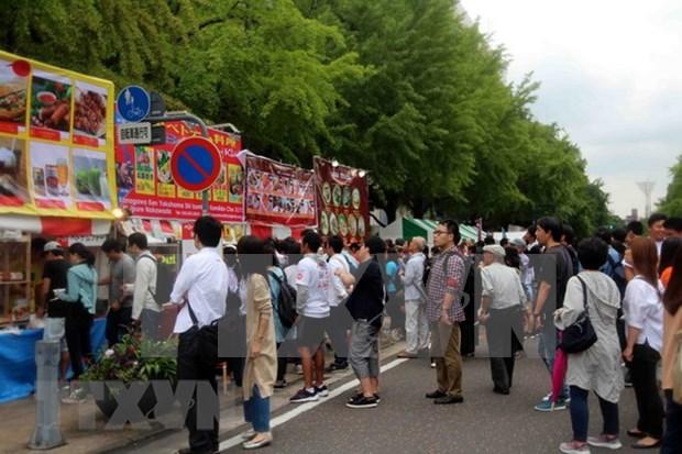 Festival vietnamita atrae atencion de publico japones hinh anh 1