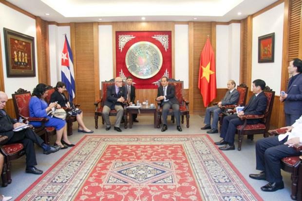 Vietnam y Cuba refuerzan cooperacion en deporte hinh anh 1