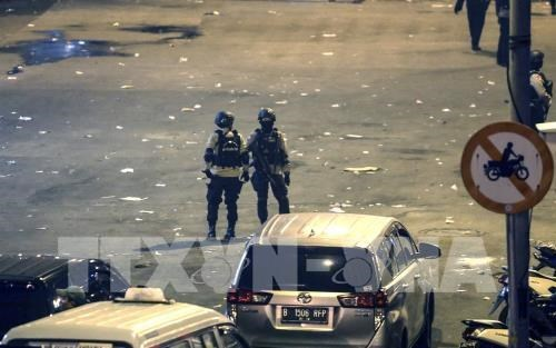 "Condenan a nueve anos de carcel a ""cerebro"" del doble atentado en Yakarta hinh anh 1"