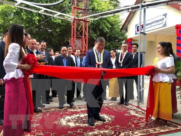 Vietnam apoya a Camboya en ampliacion de cobertura de television hinh anh 1