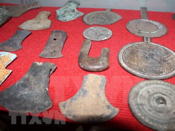 Centenares de tesoros arqueologicos vietnamitas se exhibiran en Museo Nacional de Historia hinh anh 1