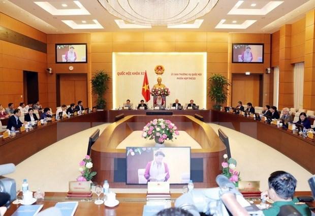Inician reunion 23 del Comite Permanente del Parlamento de Vietnam hinh anh 1