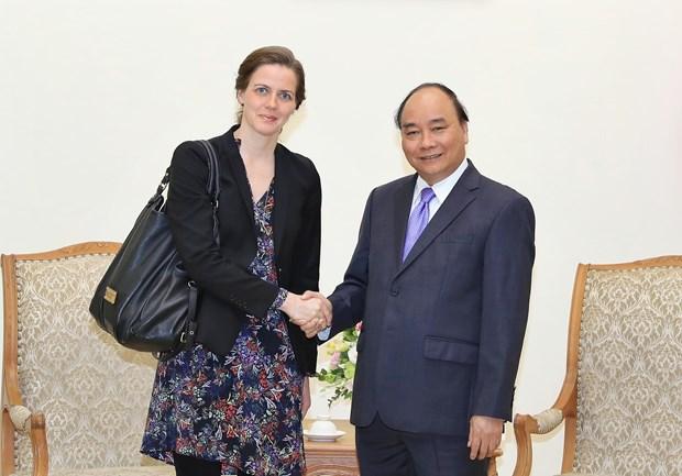 Vietnam dispuesto a continuar cooperacion con Dinamarca en salud hinh anh 1