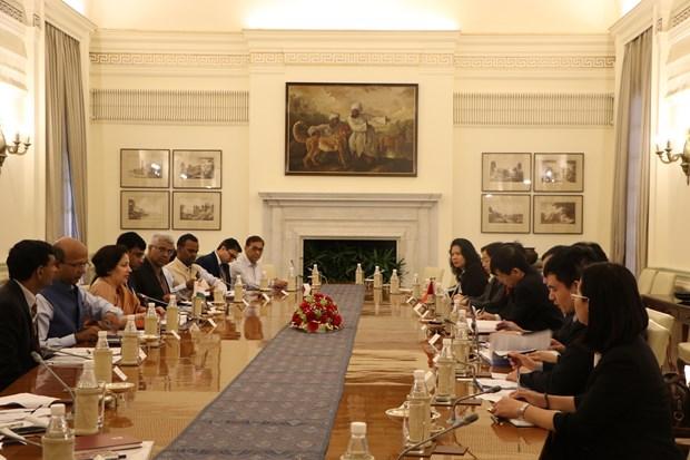 Vietnam y la India efectuan consulta politica y dialogo estrategico hinh anh 1