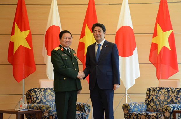 Vietnam y Japon fortalecen nexos en defensa hinh anh 1