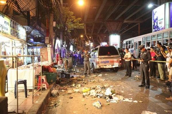 Tailandia mantiene la condena a culpables del ataque con bombas en Bangkok hinh anh 1
