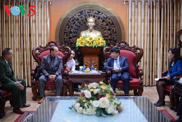 Vietnam y Cuba afianzan la cooperacion en la radio y teledifusion hinh anh 1
