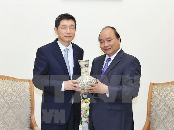 Premier vietnamita destaca fructiferas relaciones con Sudcorea hinh anh 1