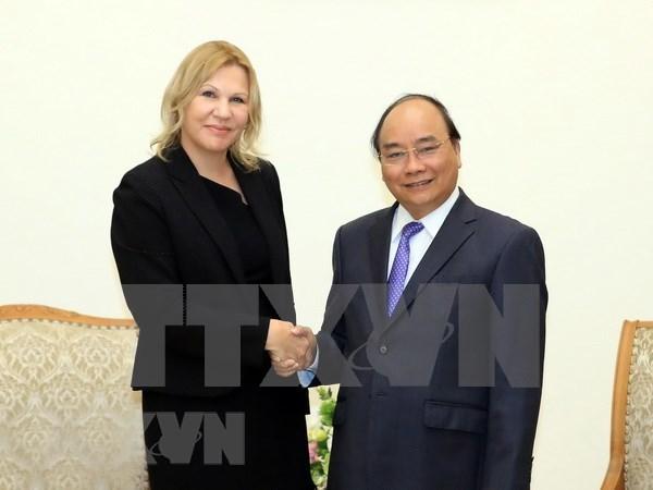 Premier vietnamita llama al apoyo de IFC para empresas startups nacionales hinh anh 1