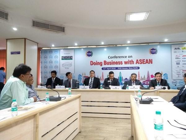 ASEAN presenta oportunidades de cooperacion comercial con India hinh anh 1