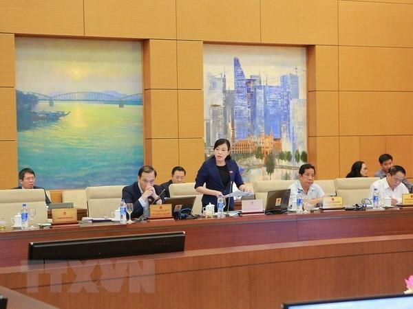 Diputados vietnamitas discuten sobre requisitos para beneficiados de amnistia hinh anh 1