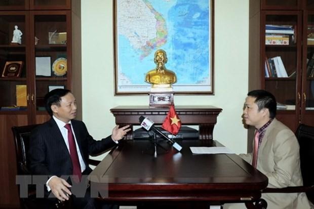 Alta confianza politica impulsa las relaciones Vietnam-Rusia, afirma embajador hinh anh 1