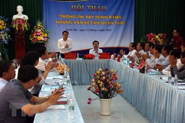 Analizan divulgacion de informacion sobre construccion partidista en Vietnam hinh anh 1