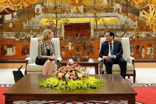 Hanoi aspira a cooperar con Nueva Zelanda en construccion de ciudad inteligente hinh anh 1