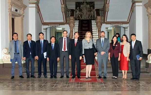 IFC ayudara a Ciudad Ho Chi Minh a construir una ciudad inteligente hinh anh 1