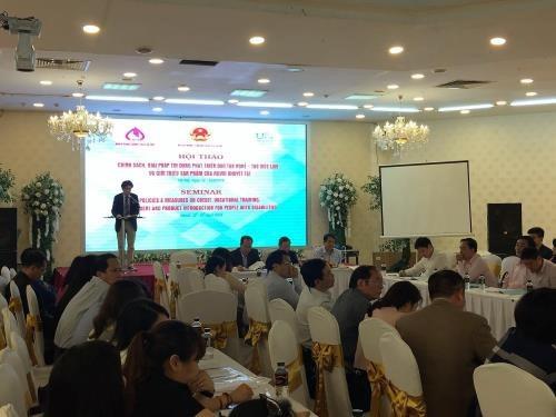 Vietnam por mejorar las politicas preferenciales para los discapacitados hinh anh 1