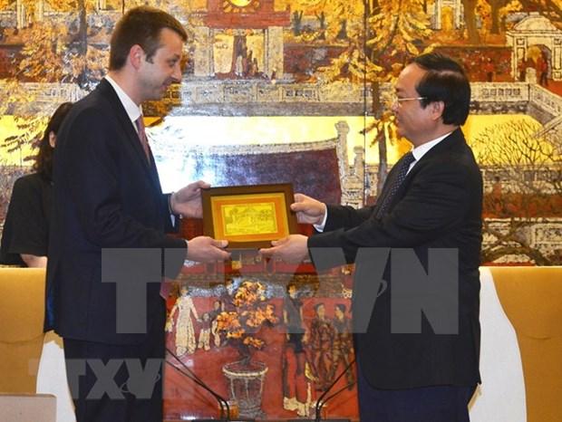 Hanoi y ciudad griega de Edessa por promover cooperacion hinh anh 1