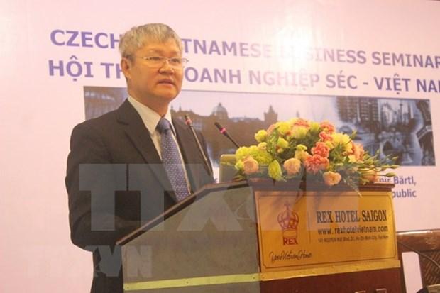 Vietnam y Republica Checa buscan intensificar cooperacion comercial hinh anh 1