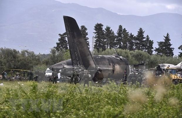 Vietnam expresa condolencias a Argelia por la tragedia aerea que deja 257 muertos hinh anh 1