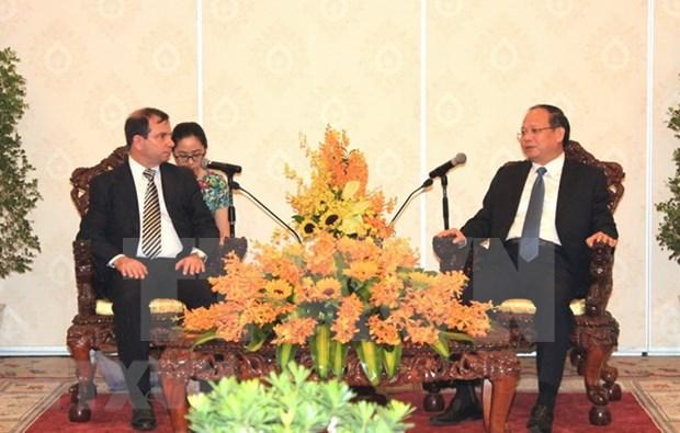 Ciudad Ho Chi Minh comprometida a fortalecer amistad con Cuba hinh anh 1