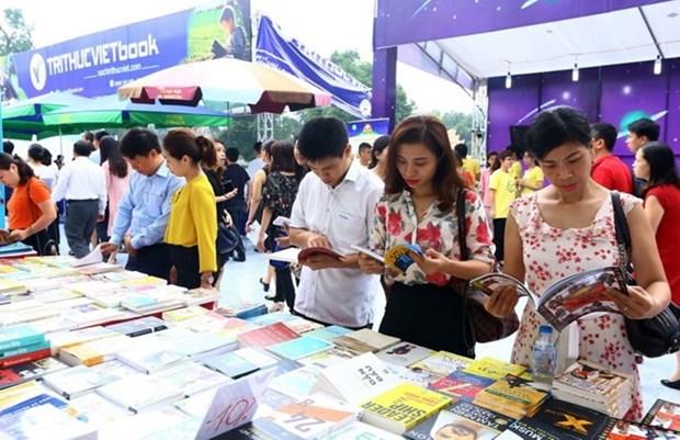 Presentaran 50 mil obras en el Dia del Libro de Vietnam hinh anh 1