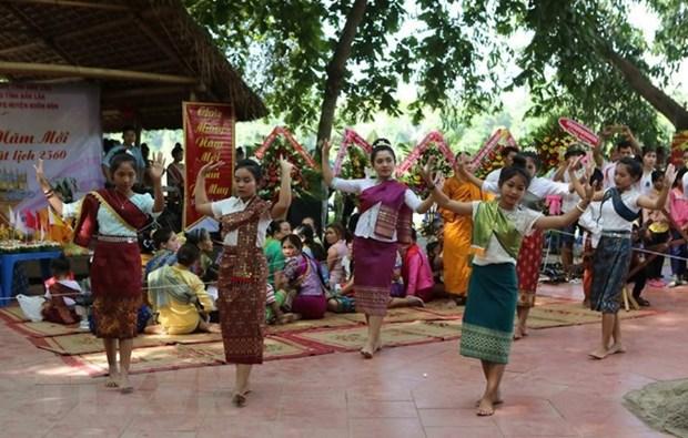 Comunidad laosiana en Hanoi celebra fiesta tradicional hinh anh 1