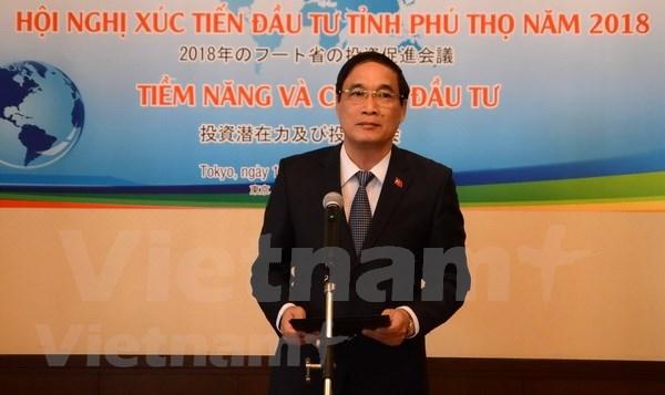 Provincia vietnamita de Phu Tho presenta sus potencialidades ante empresas de Japon hinh anh 1