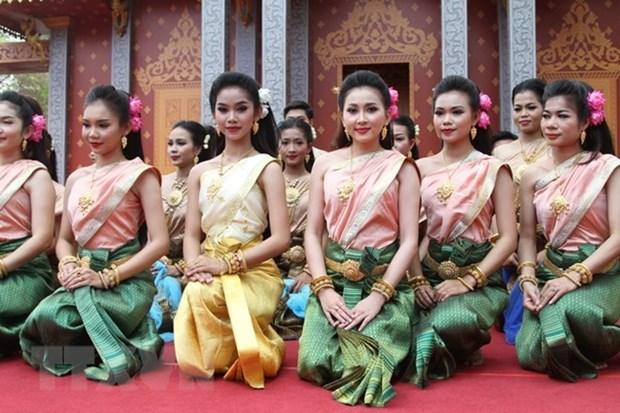 Camboya, Laos, Myanmar y Tailandia celebran tradicional festival de ano nuevo hinh anh 1