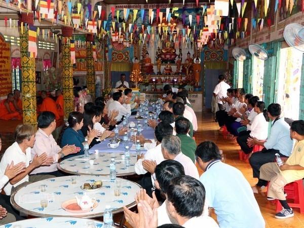 Fiesta de Ano Nuevo arraigada en cultura de los Khmer hinh anh 1