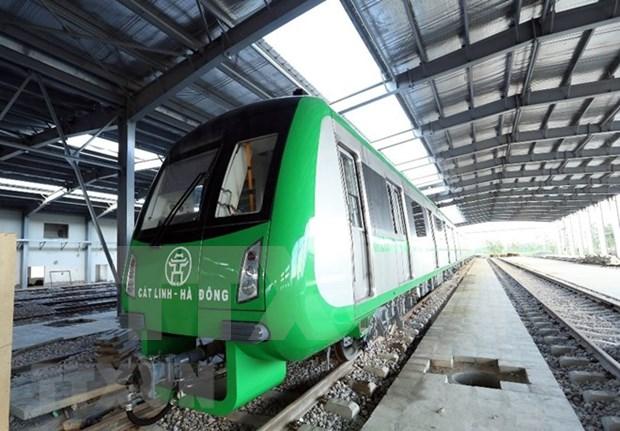 Aceleran instalacion del ferrocarril Cat Linh-Ha Dong hinh anh 1