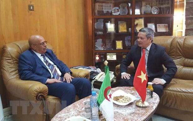 Intensifican cooperacion multisectorial entre Vietnam y localidad argelina hinh anh 1