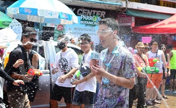 Tailandia celebra el Songkran, fiesta budista mas importante de su cultura hinh anh 1