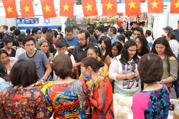 Cultura vietnamita seduce a amigos internacionales en Mexico hinh anh 2
