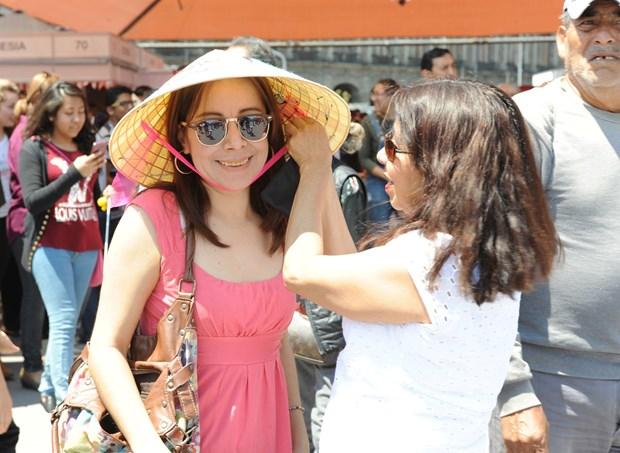 Cultura vietnamita seduce a amigos internacionales en Mexico hinh anh 6
