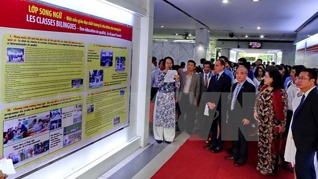 Ciudad Ho Chi Minh celebra numerosas actividades en semana cultural Vietnam-Francia hinh anh 1