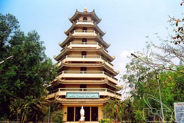 Pagoda de Giac Lam: un destino turistico atractivo de Ciudad Ho Chi Minh hinh anh 1