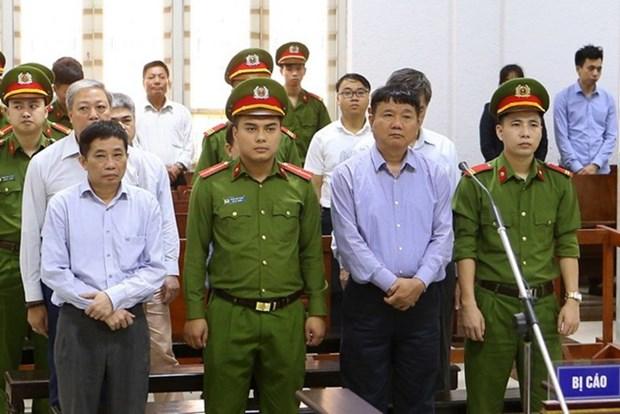 Dinh La Thang apela contra la decision del tribunal por violaciones en Oceanbank hinh anh 1
